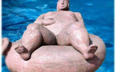 …über unbotmäßige Schwimmreifen in der Bauchgegend
